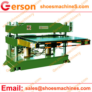 Downward Hydraulic Four-column Plane Cutting Machine