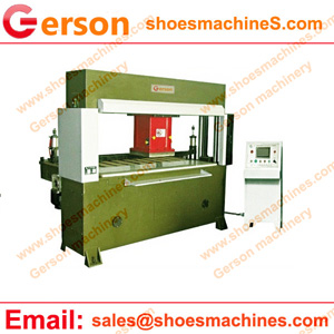 Horse leather die cutting machine