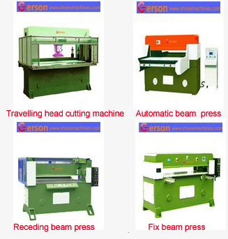 Multiple layers die cutting machine