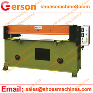 hydraulic beam cutting press machine