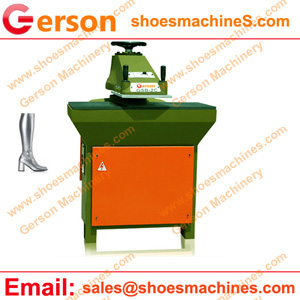 Plastic Leather pleather die cutting machine
