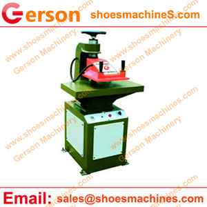 PU handbag die cutting machine