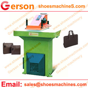 Fabric pouches die cutting machine