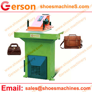 Leather bag cutting machine