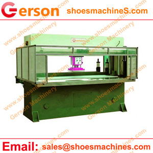 Die cutting machine for roll and sheet felt
