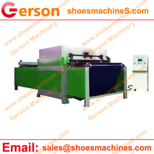 Die cutting machine for spacer mesh fabric