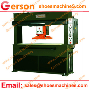 clicker die cutting press traveling head