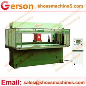 Inboard double side pinch roller feeding cutting machine