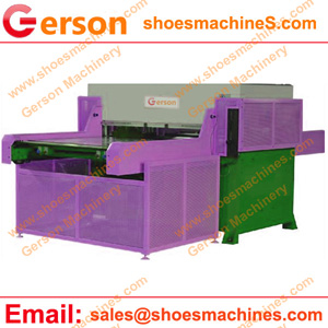 Semi-automatic flatbed die cutting machine