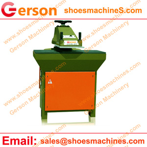 Leather Chap Boots die cutting machine