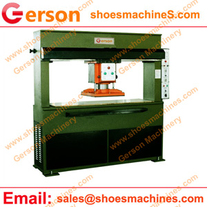 Synthetic leather/fabric sheet football die cutting machine