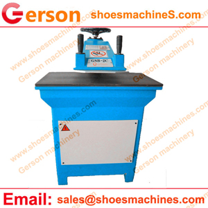Athletic Chenille Emblems Numbers Chevrons Die Cutting Machine