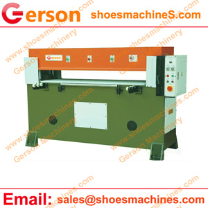 Rubber mat die cutting machine