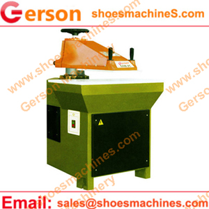 leather boot cutting machine