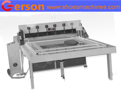 Eyes glasses cleaning cloth cutting machine