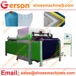 Fiberglass mesh cloth die cutting machine