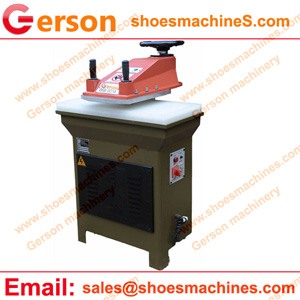 Mini Swing Arm Hydraulic Clicker Press