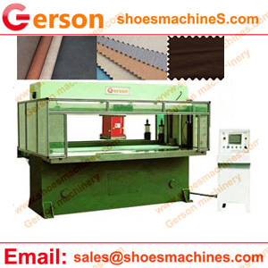 Artificial Waterproof Faux Leather Die Cutting Machine