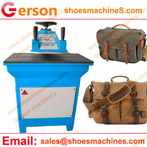 Canvas Valise Bags Die Cutting Machine