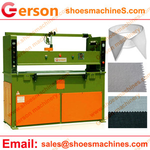 Cotton Fusible Interlining for shirt collar die cutting machine