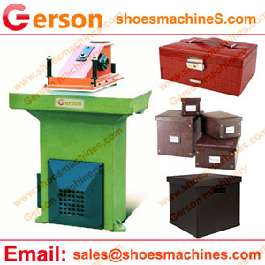 Household Faux Leather Storage Box Basket Die Cutting Machine