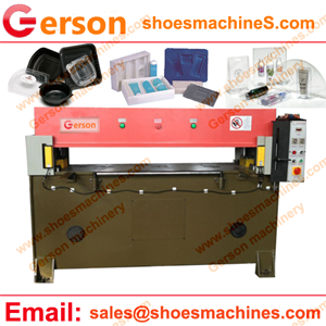 PVC thermoforming blister clamshell plastic packaging tray die cutting machine