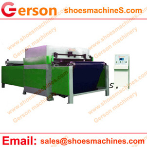 CNC programmable automatic nylon belt feeding cutting machine