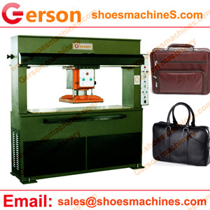Cow Leather Briefcases Cutting Machine