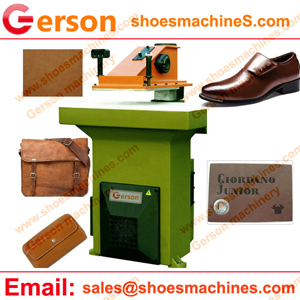 Genuine leather die cookie cutter machine