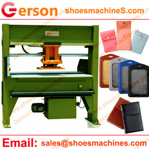 PU leather bag ID name card holder cutting machine