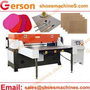 PVC/PE/PP/EVA Woven fabric Placemats Cutting machine