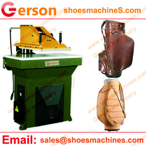 Leather Golf Bags cutting machine
