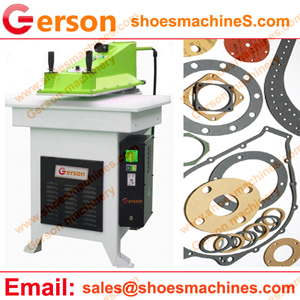 Fish Paper Fiber Gasket Die Cutting Machine