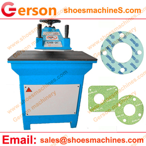 Aramid fiber gaskets die cutting machine