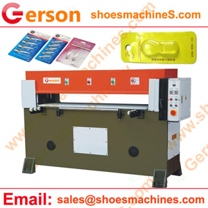 Manual sliding table plastic blister cover pack card die cutting machine