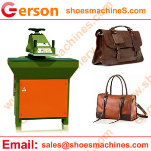 Leather Bag making Cutting Machine
