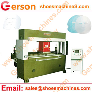 Non woven face mask die cutting machine