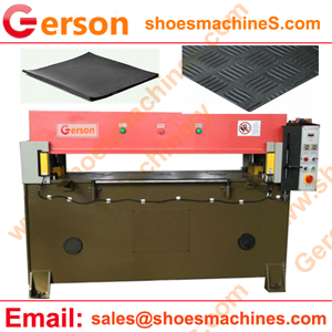 Rubber Manual Fixed Head cutting machine