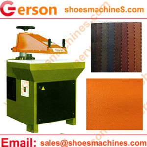 200 kn cutting machine for die cutting leather fabric