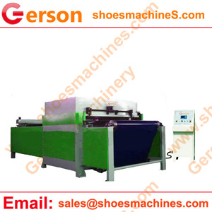Conveyor belt feeding hydraulic die cutting machine
