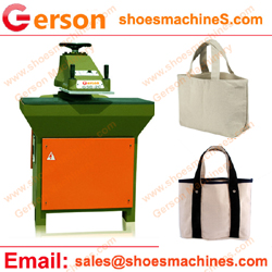 Canvas Handbag, Die-Cutting Machine