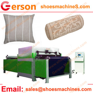 Plain Natural Linen Cushion Cover Cutting Machine