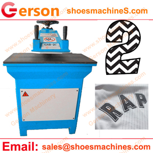 Sports Numbers Chevrons Die Cutting Machine