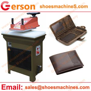 Leather Wallets Cutting Machine