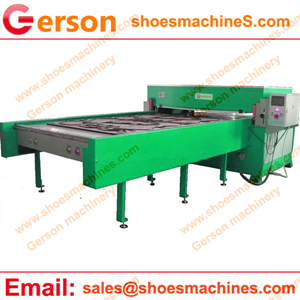 Automatic steel rule die cutting systems