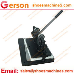benchtop clicker press hand operated mini die punch cutting press